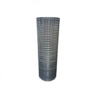 Сетка сварная из оцинкованной проволоки проволоки, ячейка 12,7х12,7х1,2 мм, рулон 1х25 м